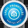 logo Label Promotelec Habita neuf
